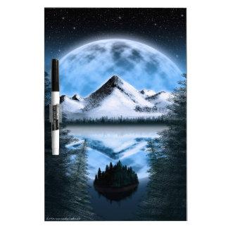 Tundra Moonrise Dry-Erase Whiteboard