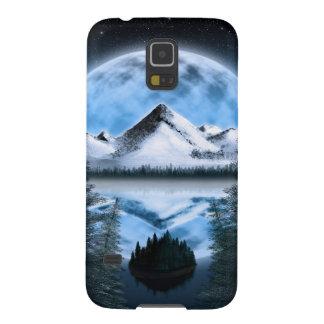Tundra Moonrise Galaxy S5 Cases