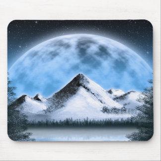 Tundra Moonrise Mousepad