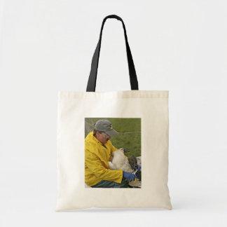 Tundra Swan - Banding Canvas Bags