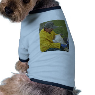 Tundra Swan - Banding Doggie T-shirt