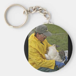 Tundra Swan - Banding Keychain