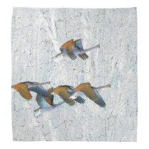 Tundra Swan Birds Wildlife Animals Bandana