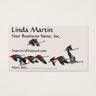 Tundra Swan Birds Wildlife Animals Business Card