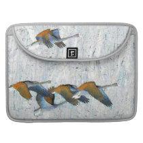 Tundra Swan Birds Wildlife Animals MacBook Pro Sleeve