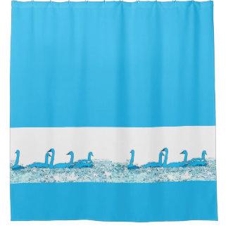 Tundra Swan Birds Wildlife Animals Shower Curtain