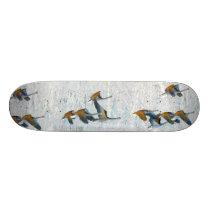 Tundra Swan Birds Wildlife Animals Skateboard