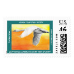 Tundra Swan Postage Stamps