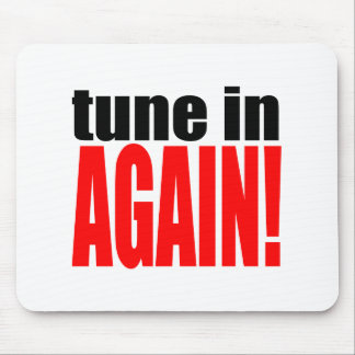 tune again music summer party night alone hangover mouse pad