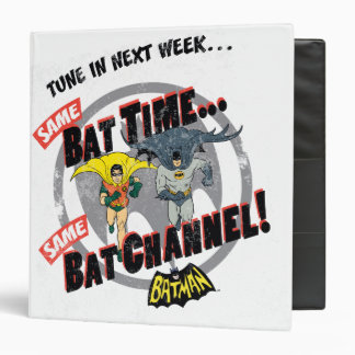 Tune In Next Week Graphic 3 Ring Binder