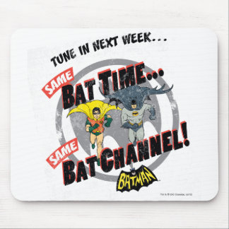 Tune In Next Week Graphic Mouse Pad