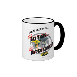 Tune In Next Week Graphic Ringer Coffee Mug