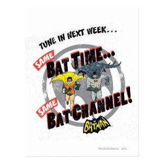 Tune In Next Week Graphic Postcard