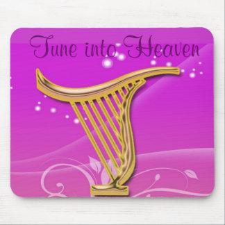 Tune into Heaven mousepad