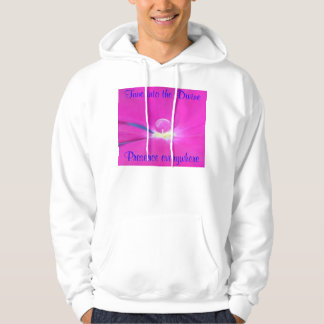 Tune into mens hoodie