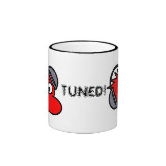 TUNED! Headphone dude ceramic mug
