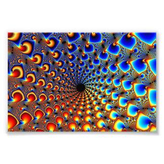 Tunel - arte del fractal arte fotografico