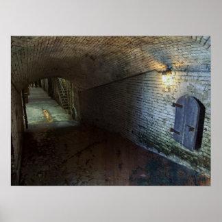 Túnel de Alcatraz 1866 Póster