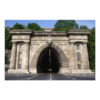 Túnel de Buda en Budapest Fotografia