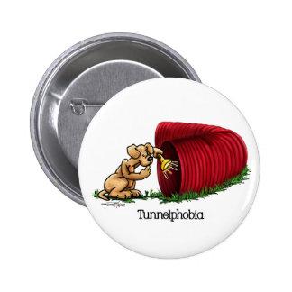 Túnel de la agilidad - Tunnelphobia Pin