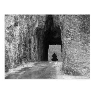 Túnel de la carretera de las agujas postal