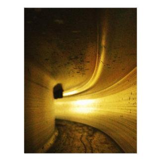 Túnel de la luz membretes personalizados
