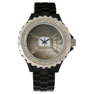 Túnel de la luz relojes de pulsera