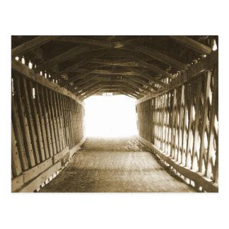 Túnel de la luz tarjeta postal