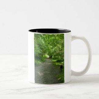 Túnel de la taza de las hojas