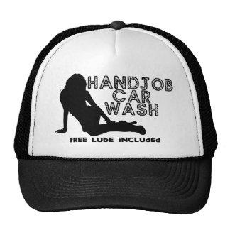 Túnel de lavado de Handjob Gorras