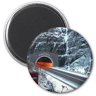 Túnel de plata de la cala imán redondo 5 cm