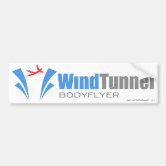 Túnel de viento Bodyflyer Etiqueta De Parachoque