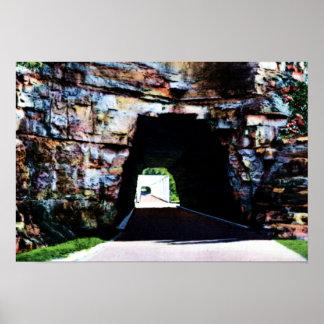 Túnel de Wilmore Kentucky Boone primero en Kentuck Impresiones