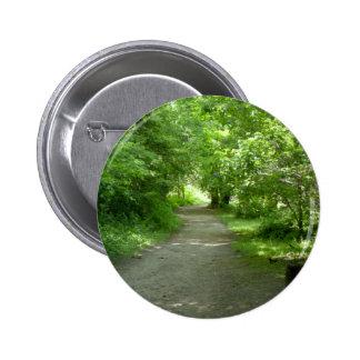 Túnel del botón de las hojas pins