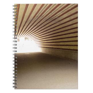 Túnel del Central Park Spiral Notebook