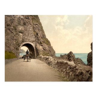 Túnel negro de la cueva, Co Antrim Postal