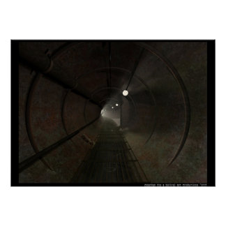 Túnel subterráneo poster