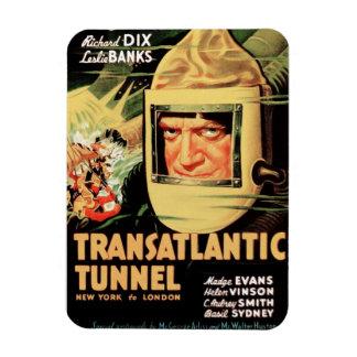 Túnel transatlántico imán de vinilo