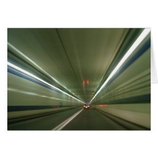 Túnel Vision 122 Tarjeta De Felicitación