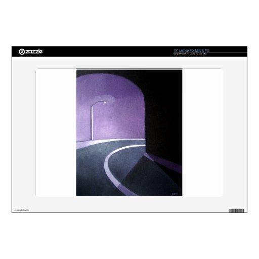 Túnel y luz calcomanías para 38,1cm portátiles