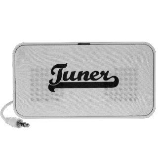 Tuner Classic Job Design Laptop Speakers