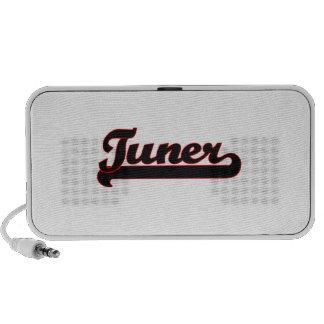 Tuner Classic Job Design iPod Speakers