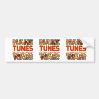 Tunes Make X Bumper Sticker