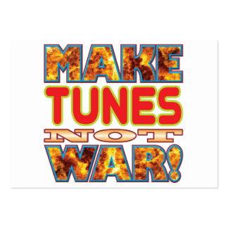 Tunes Make X Large Business Cards (Pack Of 100)