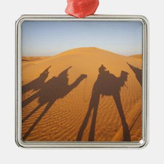 Túnez, área de Ksour, Ksar Ghilane, ergio Adorno Navideño Cuadrado De Metal