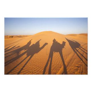 Túnez, área de Ksour, Ksar Ghilane, ergio magnífic Fotografía