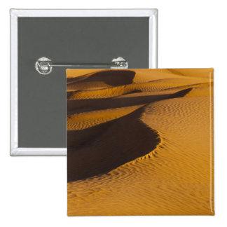 Túnez, área de Ksour, Ksar Ghilane, ergio magnífic Pin Cuadrada 5 Cm