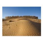 Túnez, área de Ksour, Ksar Ghilane, ergio Tarjetas Postales