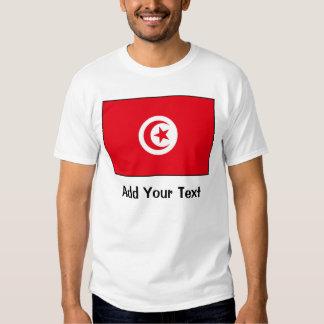 Túnez - bandera tunecina camisas