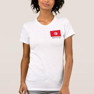 Túnez - bandera tunecina playera